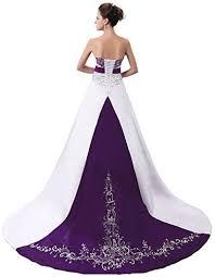 purple wedding dresses for bride dresses for purple theme weddings