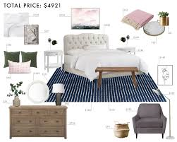 Traditional Bedroom - budget room design modern traditional bedroom emily henderson