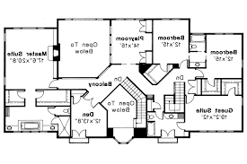 mediterranean style floor plans so replica houses