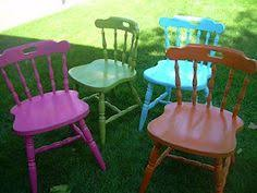 diy pink chairs fab girly chairs for your dream yard i used