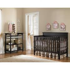 Espresso Baby Crib by Chic Changing Table Attached Baby Crib And Baby Cribs Then