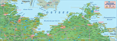 Lubeck Germany Map by Map Of Baltic Sea German Coast Germany Map In The Atlas Of