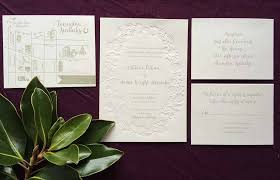 embossed wedding invitations embossed floral frame wedding invitation with gray ink cardinal