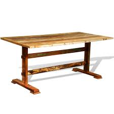 Wooden Table Png Multicolor Reclaimed Wood Dining Table Vintage Antique Style