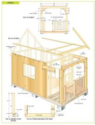 Large Cabin Plans by Backyards Charming Backyard Cabin Plans Backyard Furniture
