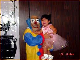 happy birthday creepy clown scary why do kids clowns here s 20 reasons