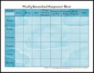 5 free printable homeschool schedules and printable homeschool