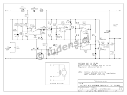 component alternator regulator circuit diagram dynamo current and