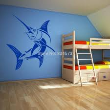 home decor wall art stickers ome decor wall sticker marlin saltwater fish fishing wall art