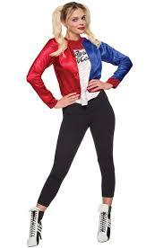 Jumbo Halloween Costumes Squad Harley Quinn Costume Kit Purecostumes