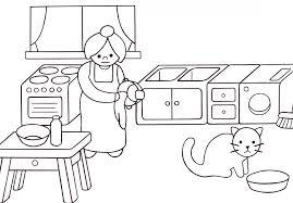 dessins cuisine dessin de coloriage cuisine à imprimer cp08897