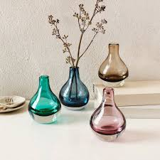 Cut Glass Bud Vase Vases Sale Glass Bud Vases West Elm