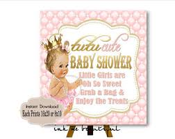 Baby Shower Candy Buffet Sign by Printable Royal Baby Shower Candy Buffet Sign Prints 16x20 Or