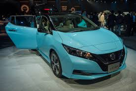 nissan leaf next generation up close with the 2018 nissan leaf the verge