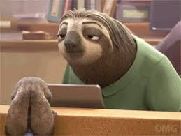 Angry Sloth Meme - animals gifs find share on giphy
