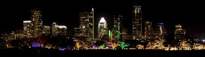 Trail Of Lights Austin Texas Christmas Outside My Front Door