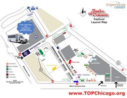Chicago Parking Zone Map by 2017 Schedule Taste Of Polonia Festival Live Music Food