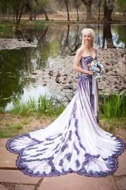 purple wedding dresses wedding dress with purple back but orange instead of purple