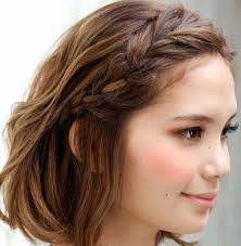 tutorial mengikat rambut kepang cara kepang rambut pendek cara wanita