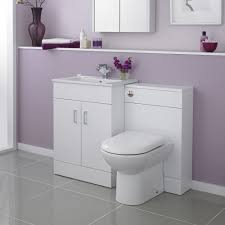 turin high gloss white vanity unit bathroom suite w1100 x d400