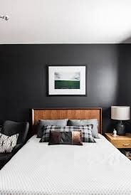 Bedroom Wall Units by Astounding Bedroom Wall Units Colors 2017 Black Wall Wooden Bed