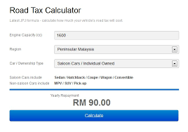 Estimated Car Insurance Cost by How To Calculate Vehicle S Road Tax And Insurance Cost Practicable