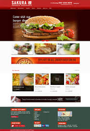 entry 21 by lassoarts for design template for opencart fast food