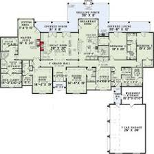 first floor plan of european house plan 82242 home house plans