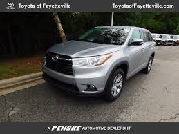 toyota highlander 2016 used toyota highlander fwd 4dr v6 le plus at toyota of