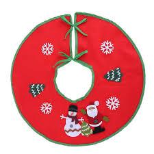 shopping online for home decor 45 5cm christmas tree skirt christmas decorations for home santa