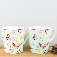 Floral Mugs Pretty Country Kitchen Mugs Flower Mugs U2013 The Mug Co