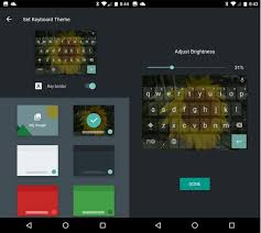 color themes for android how to set a keyboard theme on android nougat using images or
