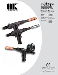 and spool gun owner s manual