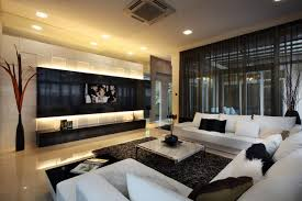 Big Living Room Ideas Beautiful Large Living Room Design Decorated By Black White