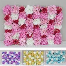 new style handmade artificial hydrangea rose flowers wall romantic