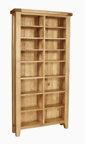 panama solid rustic oak furniture cd dvd storage rack house