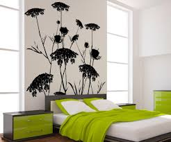 nature wall decals nature stickers for walls stickerbrand vinyl wall decal sticker queen anne s lace ac218