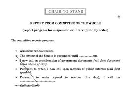 chapter 21 committees of the whole u2013 parliament of australia