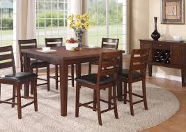 Tall Dining Room Table Average Height Of Dining Room Table