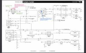 headlight wiring diagram tutorial relays within relay carlplant