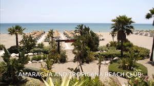 amaragua and tropicana beach club restaurant mango youtube