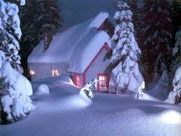 Christmas House by Christmas House With Snow Christmas Snow House Desktop