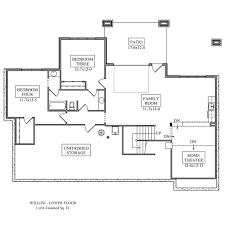 Home Theater Floor Plans Willow Floor Plan From Noco Custom Homes