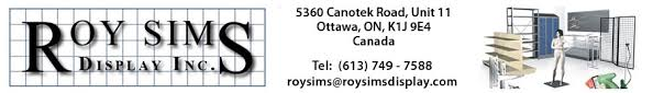 Display Case For Sale Ottawa Roy Sims Display Ottawa Retail Store Fixtures