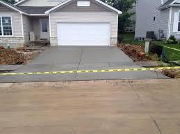 pouring concrete driveways building dreams