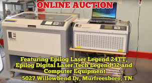 comas montgomery realty and auction engraving and laser machines