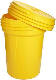 halloween storage bins eagle 1600sl yellow high density polyethylene lab pack drum with