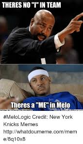 Melo Memes - 25 best memes about no i in team no i in team memes