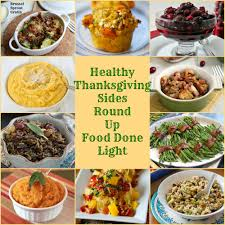 healthy thanksgiving sides recipe up food done light