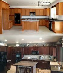 Stains For Kitchen Cabinets Best 25 Staining Kitchen Cabinets Ideas On Pinterest Stain